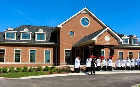 Benedizione & Dedicazione del Family Center - MI, USA
