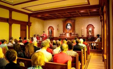 Prima Messa nel Family Center - Michigan, USA