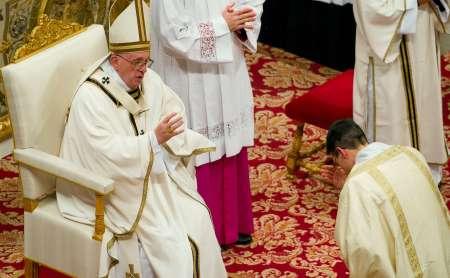 Vigilia di Natale di Miles Christi con il Papa Francesco 2015