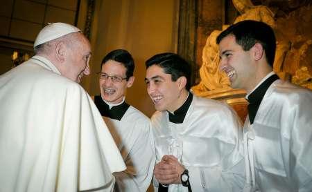 Vigilia di Natale di Miles Christi con il Papa Francesco